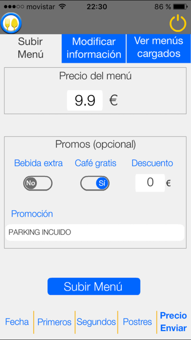 PonTuMenú screenshot three