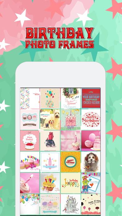 Birthday Photo Frames + Wallpapers screenshot three