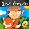 动物数学二年级数学游戏儿童应用程序