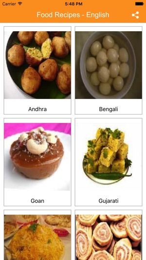 Food recipes in english on the app store forumfinder Image collections