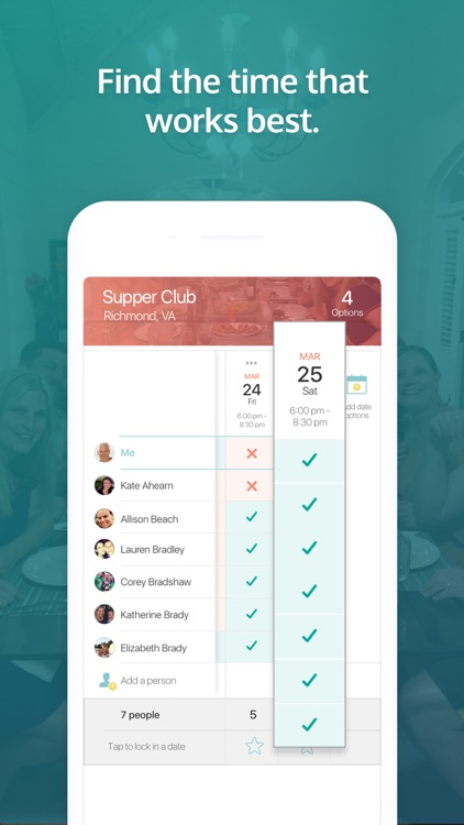 goHappy: Group plans & sharing