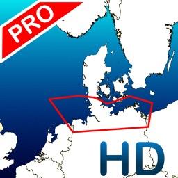 Aqua Map: Germany - GPS Nautical Charts | HD
