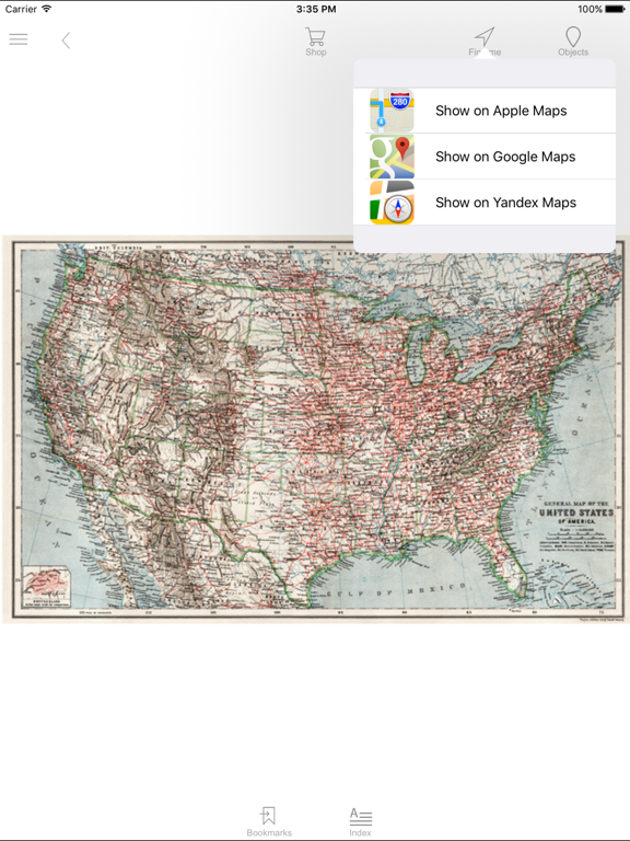 United States of America (1909). Historical map. | App Price Drops