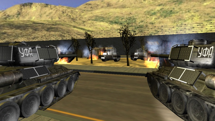 Tank Battle Arena War 3D - Shoot for City Survival screenshot-3