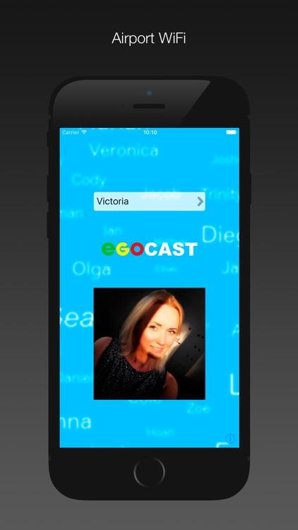 Egocast x. WiFi social group
