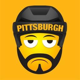 Pittsburgh Hockey Stickers & Emojis