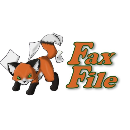 FaxFile - send fax from iPhone or iPad application logo