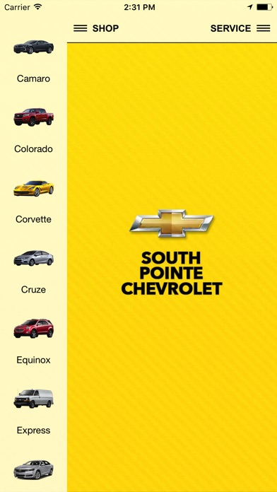 South Pointe Chevrolet App Mobile Apps Tufnc