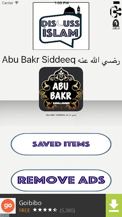 Abu Bakr RadiAllahuAnhu (Ramadan islamic Apps)