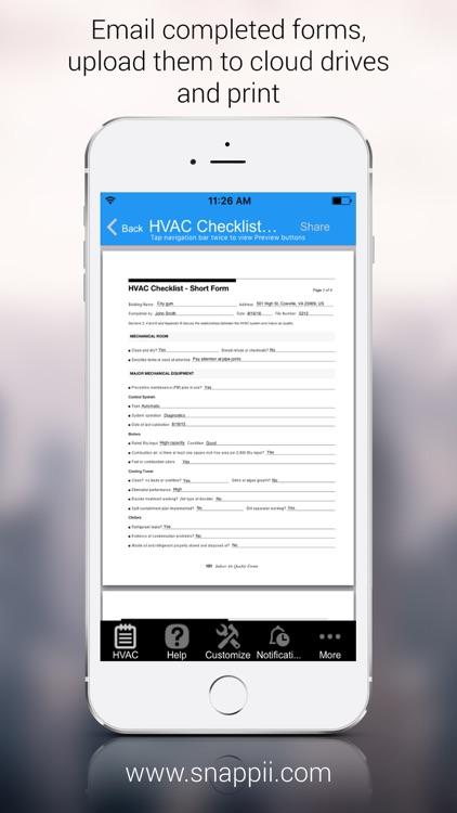 HVAC Inspection Checklist