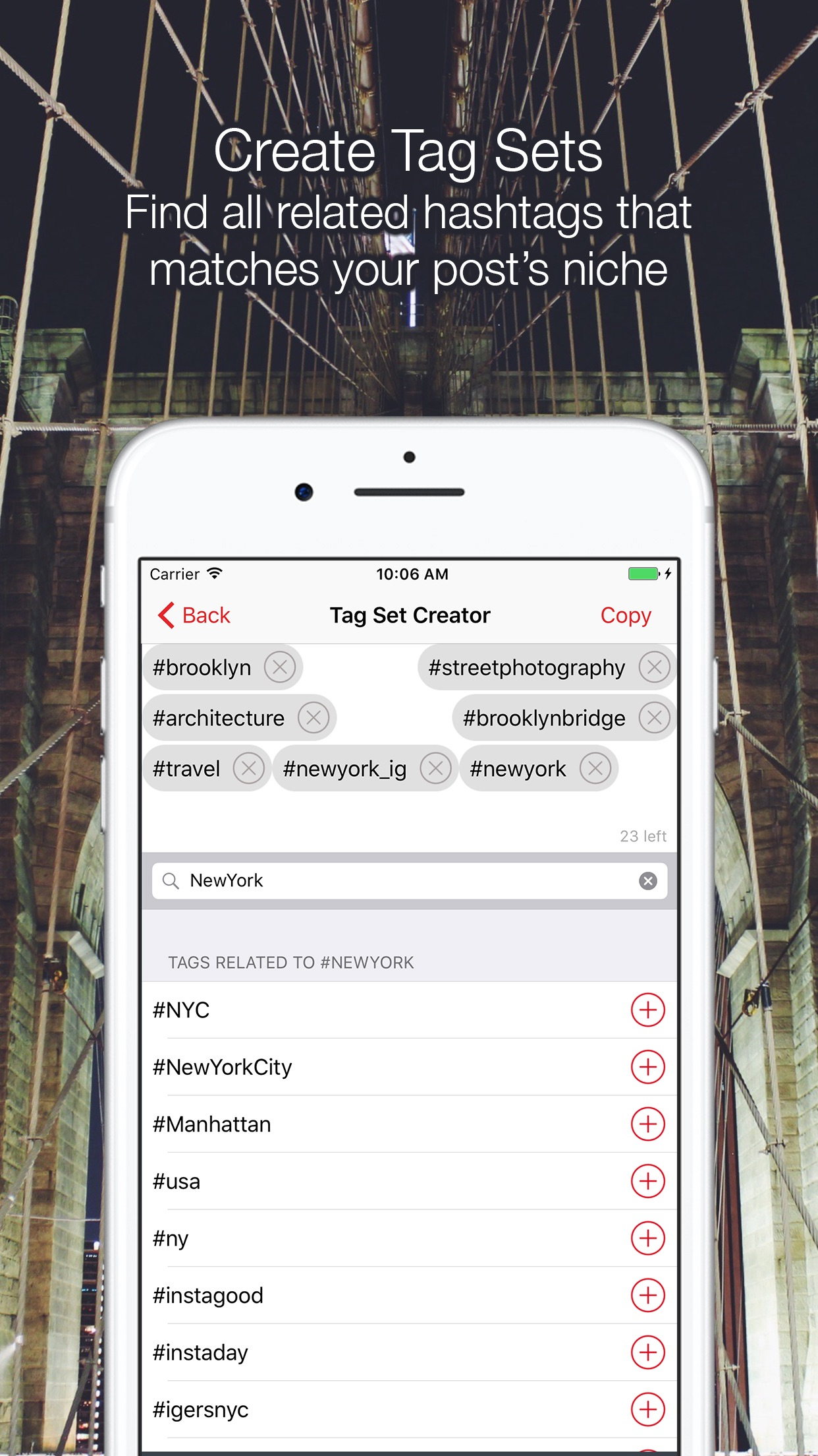 PostBot 3 for Instagram- Best time to post & tags Screenshot