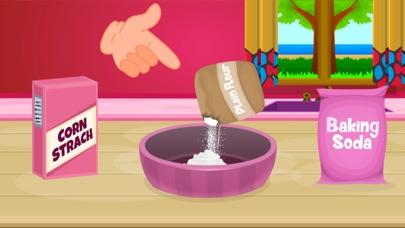 Delicious Caramel Cookies-Food Making Game screenshot two
