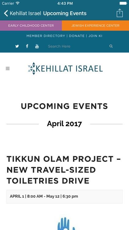 OurKI ~ Kehillat Israel screenshot-3