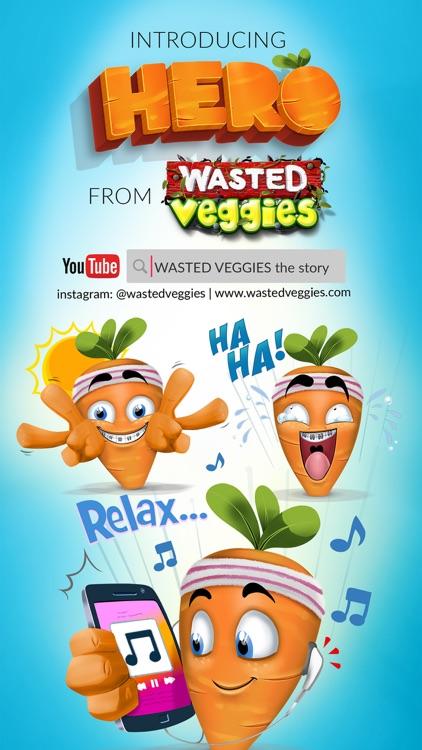 Wasted Veggies: Hero