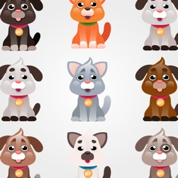 Dogs Cartoon Stickers