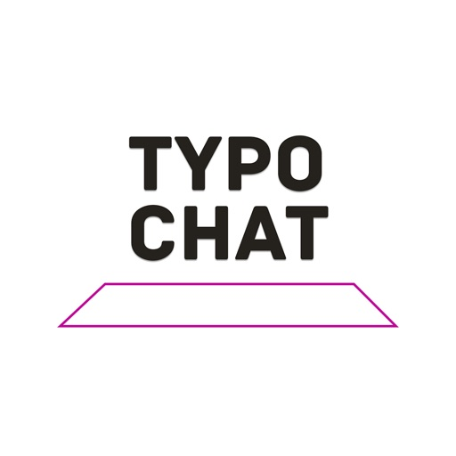 TypoChat -Minimal Animated Typography Chat Message icon