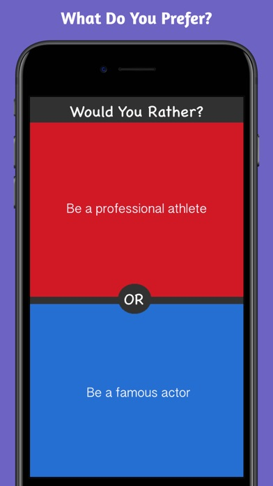 What Would You Choose? Rather