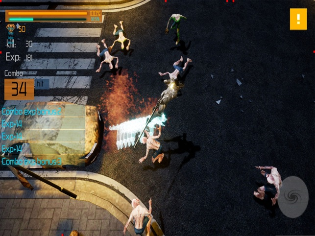 Bloody Cyborgs:Zombie Slayer, game for IOS