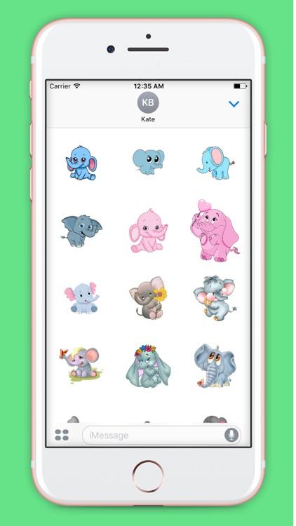 ElephantMoji - Best Elephant Emoji & Stickers