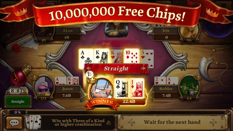 Scatter HoldEm Poker - Texas Online Poker Game screenshot-0