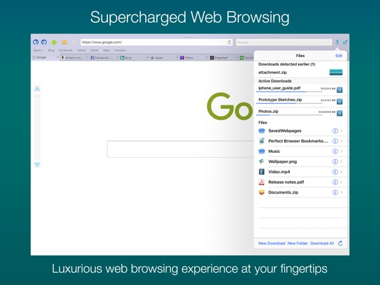 Perfect® Browser+ (Legacy) Screenshots