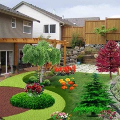Bon Yard And Garden Landscaping Design Ideas U0026 Plans 4+