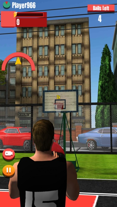 Street basketball-basketball shooting games Screenshot