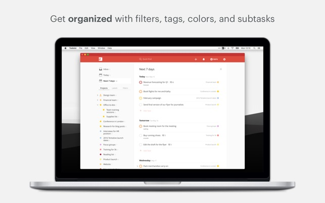 Todoist: Organize your life on the Mac App Store