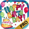Tarjetas de cumpleaños  y pegatinas – Pro