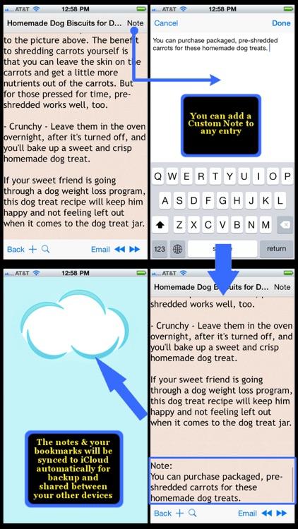 Homemade Pets Recipes screenshot-3