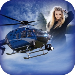 Helicopter Photo Frames HD