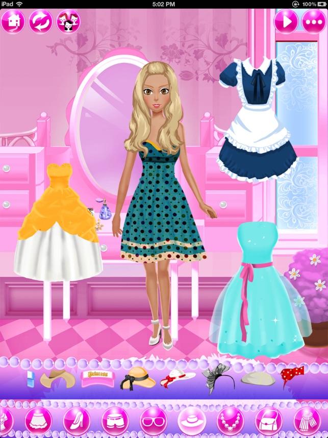 Pretty Barbie Dress Up Game Free