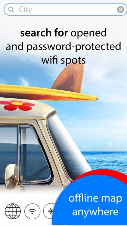 Wifimaps offline - hotspots anywhere & offline map