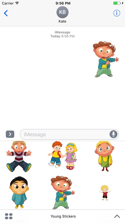 Young Stickers - Best Children Stickers And Emojis