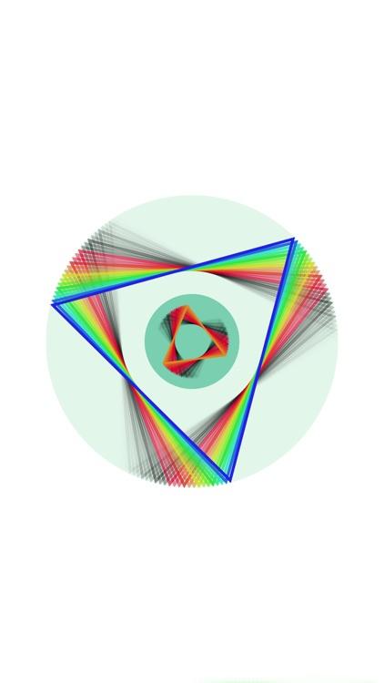 Polyspinner: The Fidget Spinner Music Visualizer
