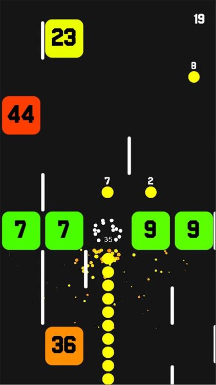 Snake Vs Math Brain Training Ball and Blocks Color screenshot-4
