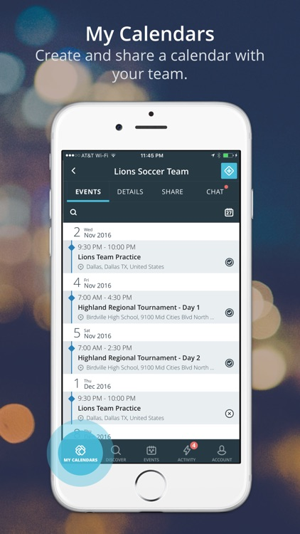 Allcal - Manage events better screenshot-1