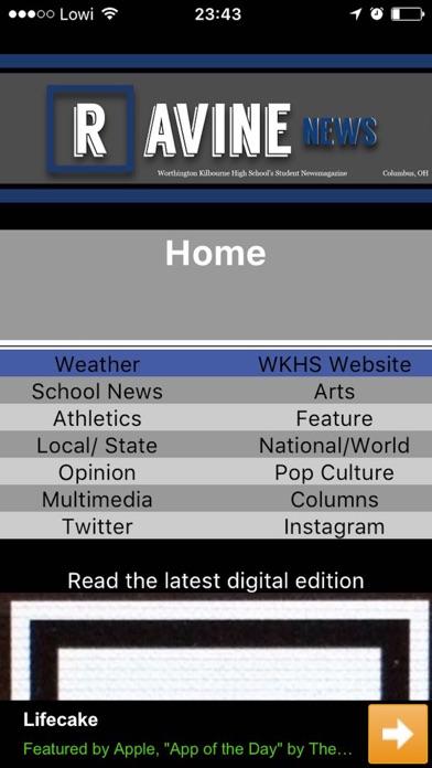Ravine News screenshot 2