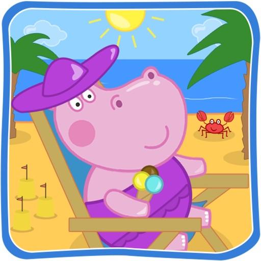 Пляжные приключения Гиппо