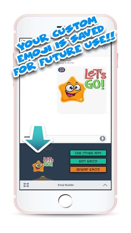 Cute Emoji Builder screenshot-3