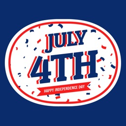 Animated 4th Of July Emojis For iMessage