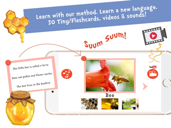 Screenshot #2 for Sami Tiny FlashCards Animals 6 languages kids apps
