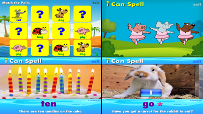 i Can Spell with Phonics CVC+ screenshot four