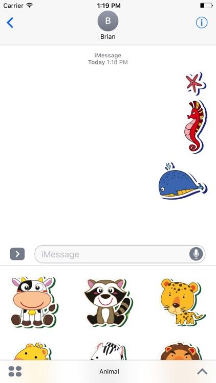 Sweetie Animal Stickers