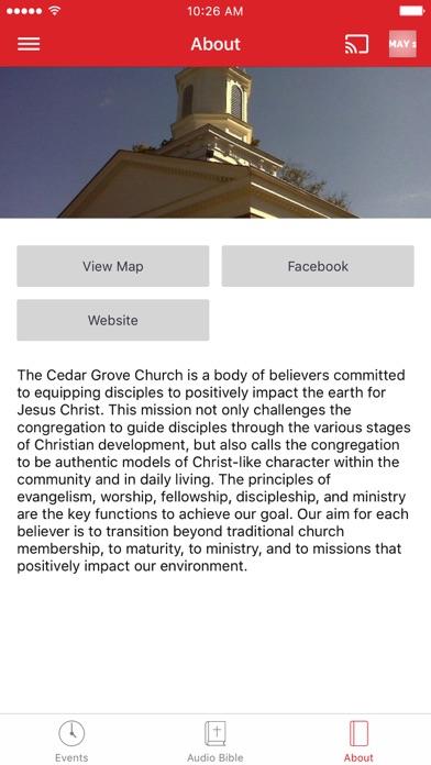 Cedar Grove Church screenshot 3