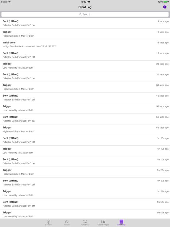 Indigo Touch screenshot