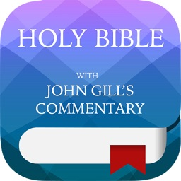KJV Study Holy Bible - with John Gill Commentary