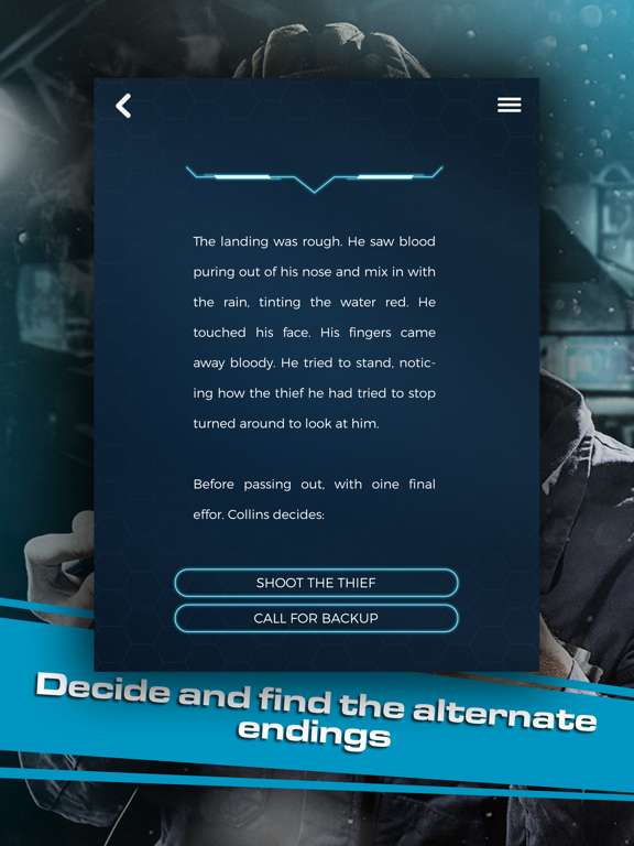 Past Mistakes - Science Fiction dystopian Book app screenshot 8