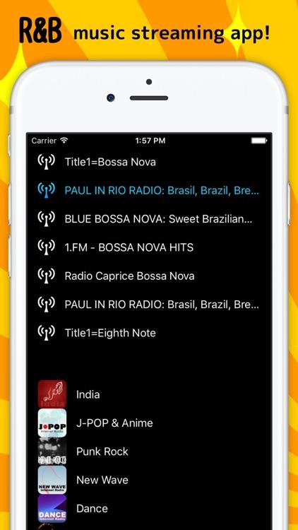 R&B - Internet Radio music streaming app!