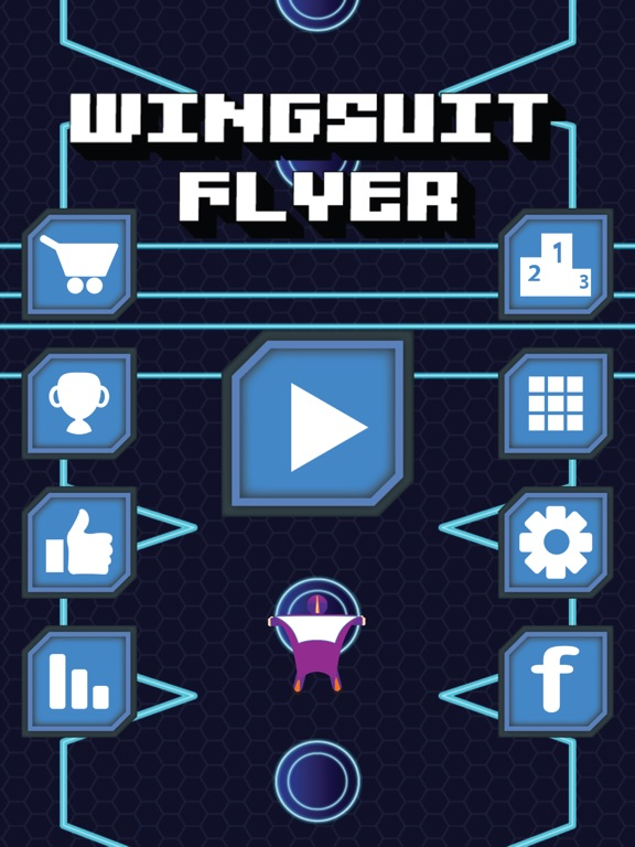 Image of Wingsuit Flyer for iPad